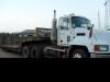 Low loader Mack Truck